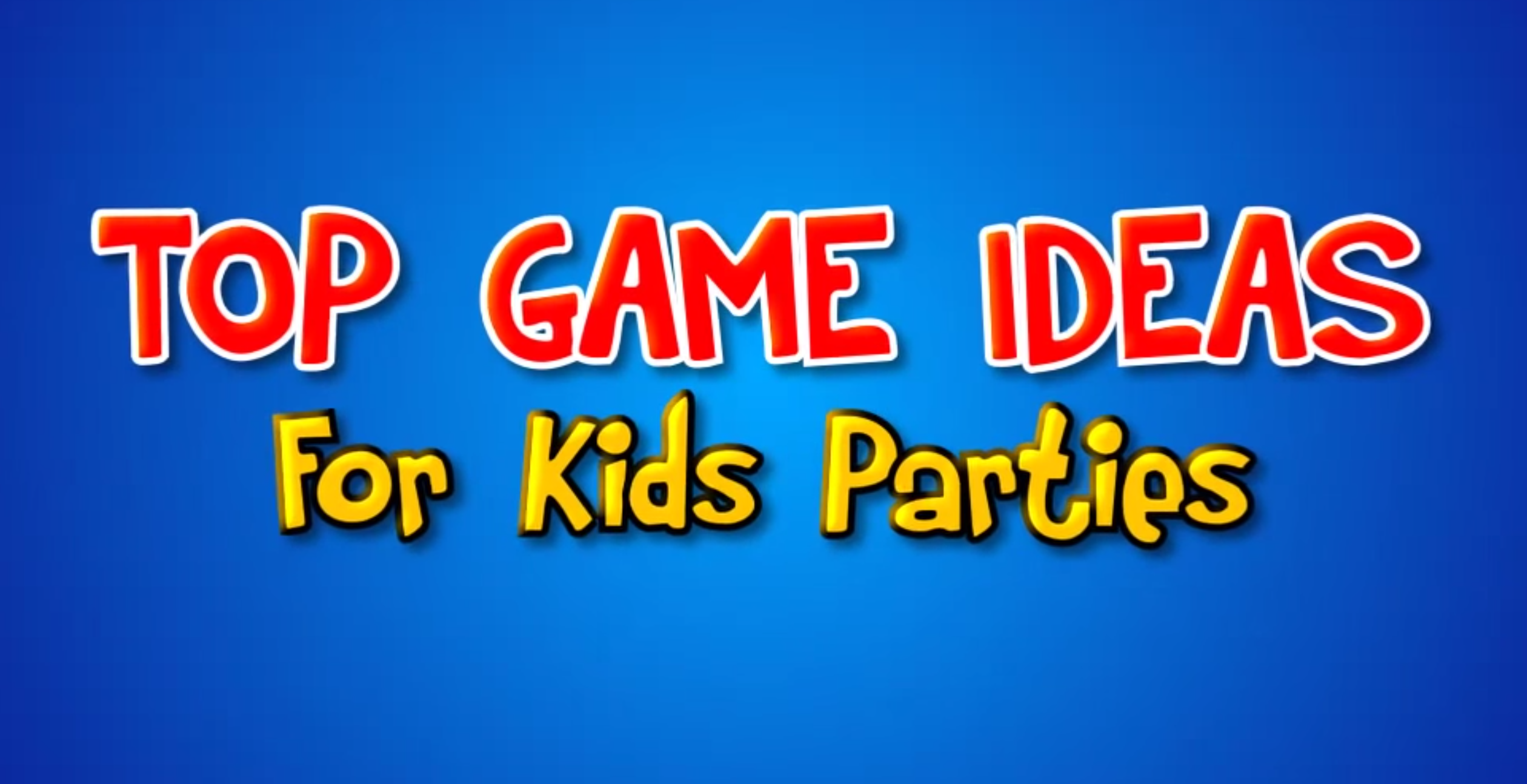 """House party Games for Childrens Birthday Parties Melbourne"""