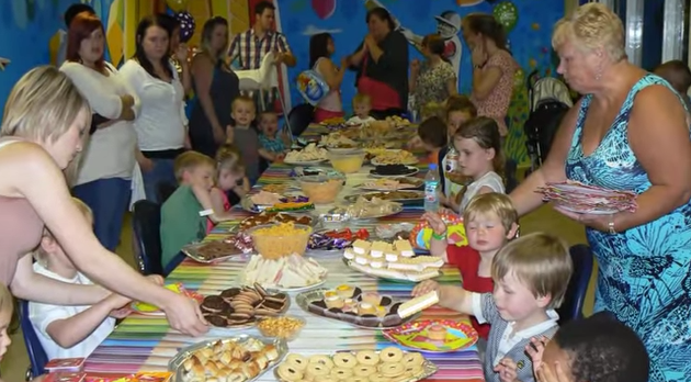 Kids Birthday Party - Food