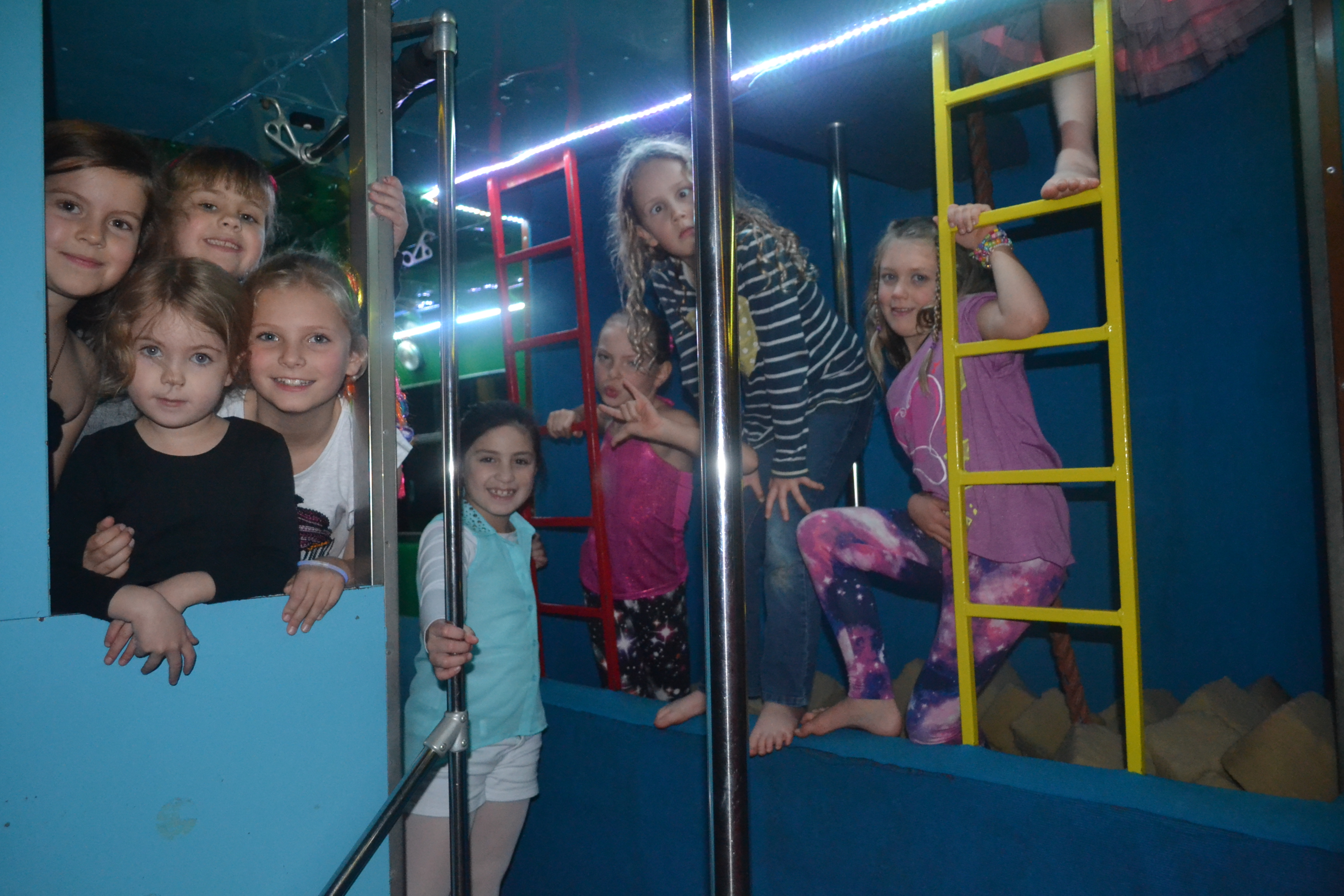 Kids Parties at Night on the GymBus