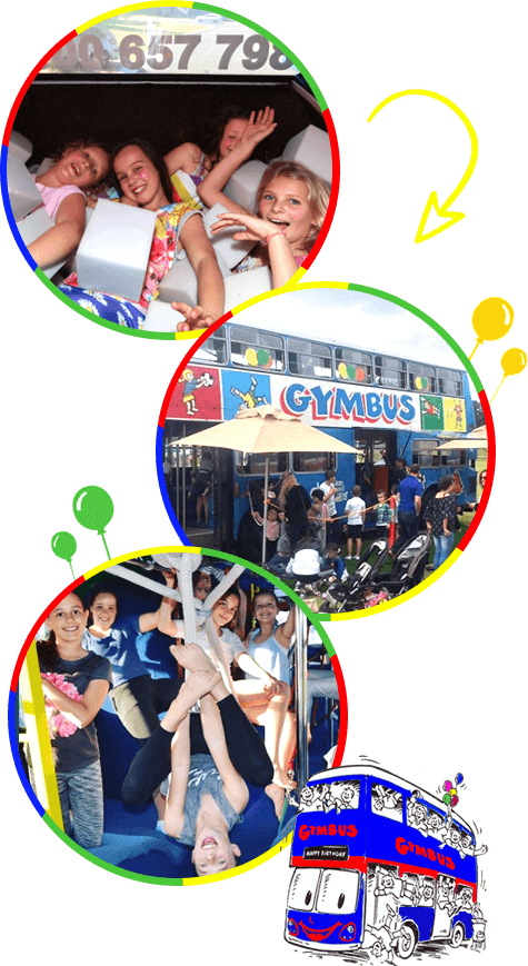 Gymbus Kids Birthday Parties Perth and Melbourne