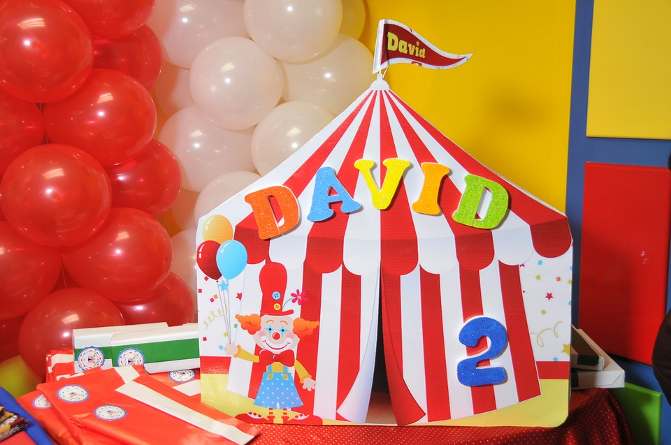 The Circus Party Theme